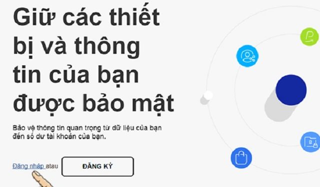 Bước 2: vào website của Samsung bằng máy tính