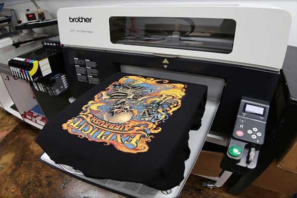 Các phương pháp in ấn trên vải