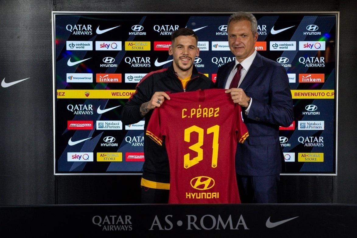 C.Perez hạnh phúc trong màu áo mới
