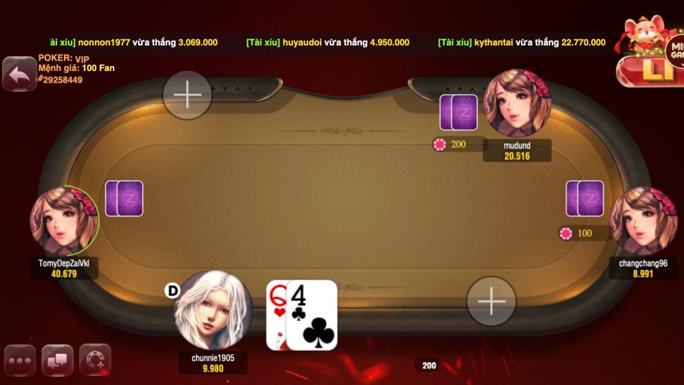 Thủ thuật thắng bài Poker cho người chơi