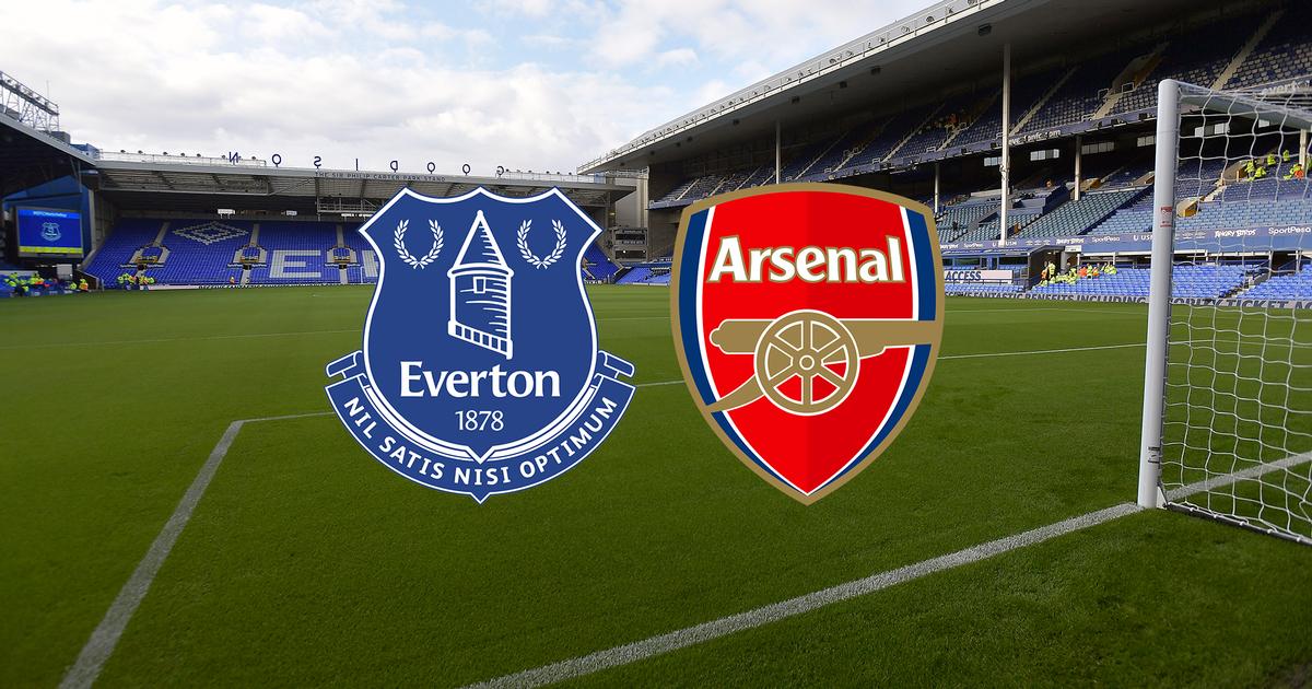 Trận đấu giữa Everton vs Arsenal