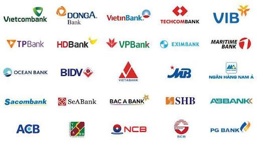 Liên kết với nhiều ngân hàng để dễ dàng thao tác giao dịch